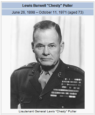 "Lewis ""chesty"" puller"